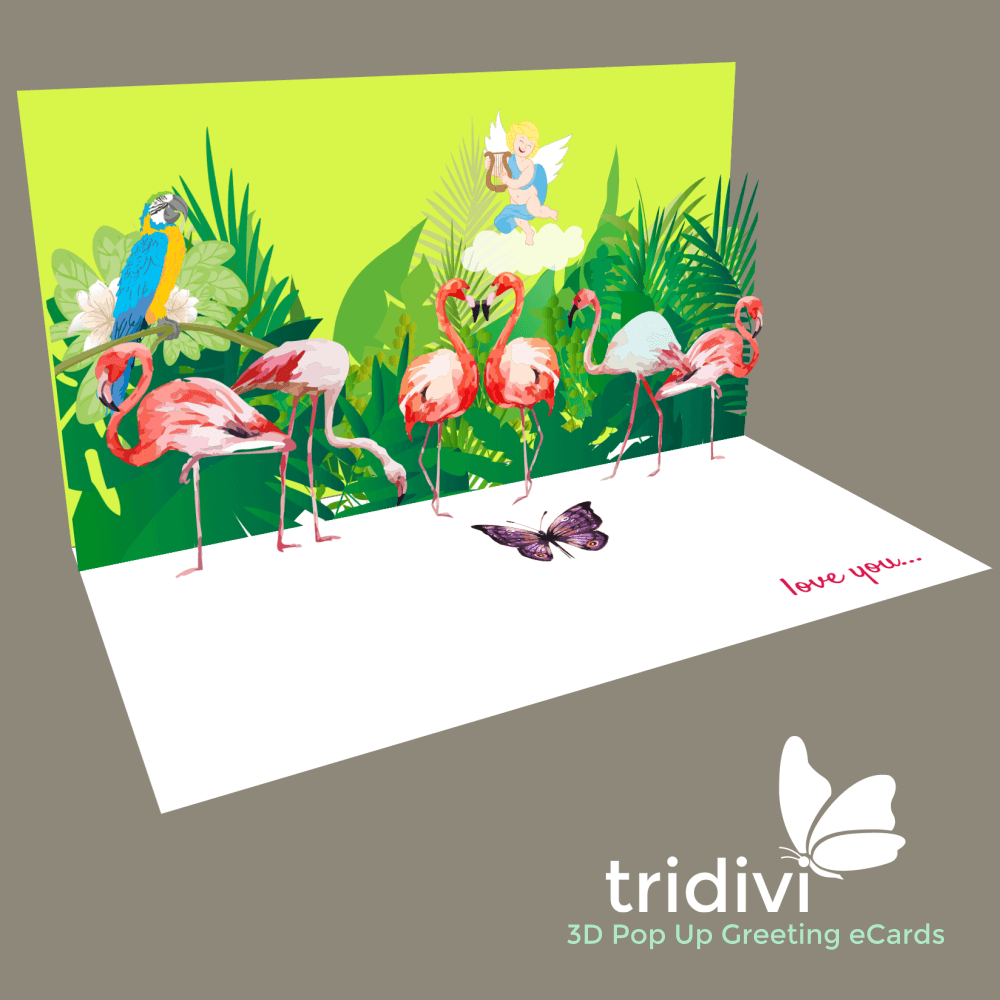 FREE Personalized 3D Pop Up ECards